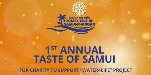 Rotary Club of Samui Phangan 1st Anniversary Charity Event