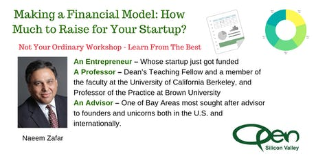 Making a Financial Model: How Much to Raise for Your Startup? tickets