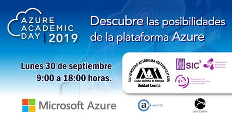 Azure Academic Day - UAM Lerma boletos