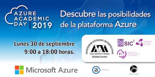 Azure Academic Day - UAM Lerma