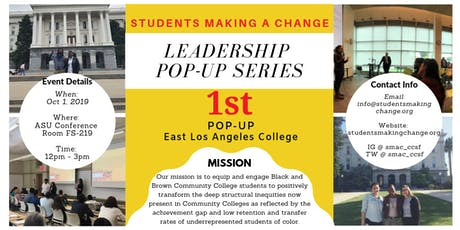 Leadership Pop-Up Series tickets