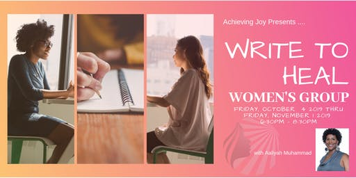 Write To Heal: A Women's Group