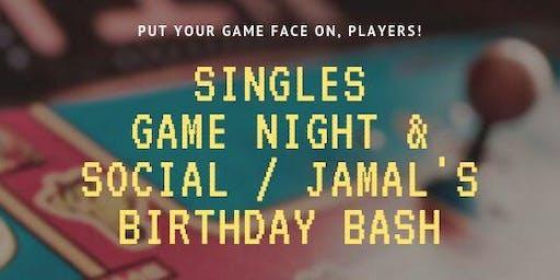 Singles Game Night & Social