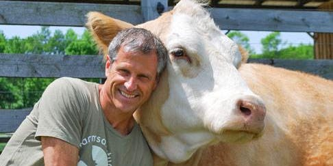 Live Interview of Gene Baur of Farm Sanctuary by Courtland Milloy, Washington Post with Dinner