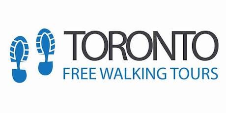 Free Old Town Toronto Tour tickets