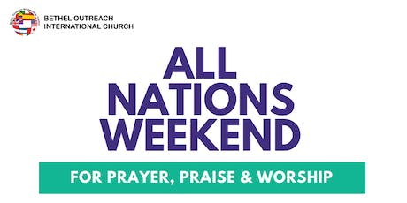 ALL NATIONS WEEKEND tickets