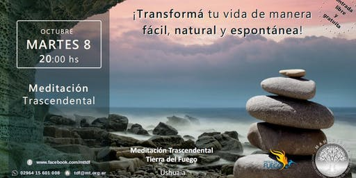 Ushuaia - Charla Informativa sobre Meditación Trascendental
