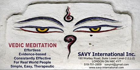 Learn Vedic Meditation - Introductory Session tickets