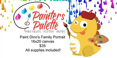 VIPKID  PAINT DINO's Family tickets