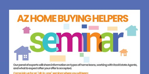 Home Buying Helpers Seminar, October 12th 2019