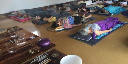 Sun 5pm Sacred Sounds Meditation 5 Week Term $110