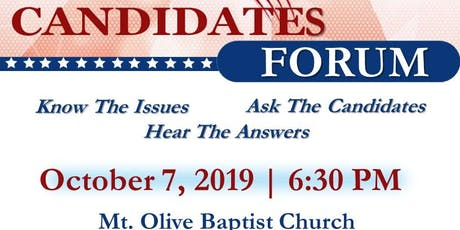 2019 Candidates' Forum - Henry County tickets