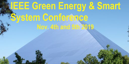 IGESSC 2019 (IEEE Green Energy & Smart Systems Conference)