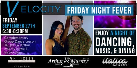 Friday Night Fever @ Velocity tickets