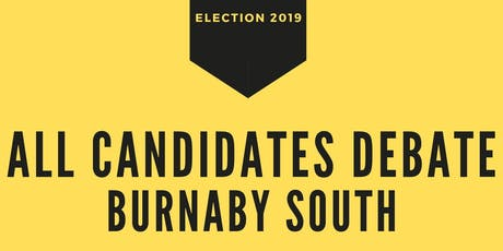 All Candidates Debate - Burnaby South tickets