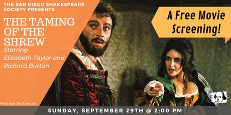 The Taming of the Shrew - Movie Screening tickets