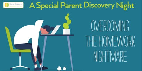 Overcoming the Homework Nightmare Seminar - Brain Balance Summerlin tickets