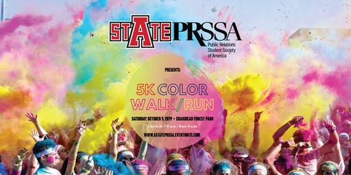 A-State PRSSA: 5K Color Walk/Run