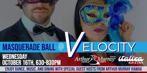 Masquerade Ball  @ Velocity