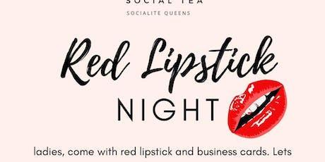 Red Lipstick Night Social Tea Atlanta tickets