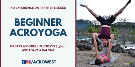 Beginner Acroyoga Classes tickets