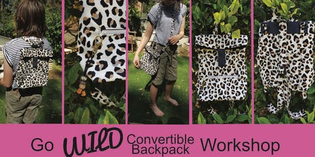 Go Wild Convertible Backpack Workshop tickets