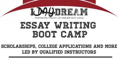 iD.A.Y.dream Presents: Essay Writing Intense Bootcamp tickets