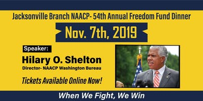 Jacksonville Branch NAACP 54th Annual Freedom Fund Dinner