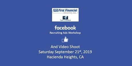 Facebook Recruiting Ads Workshop & Video Shoot tickets