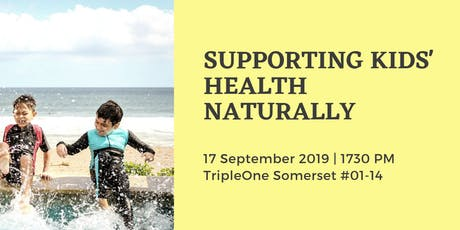 Supporting Kids' Wellness The Natural Way tickets