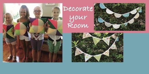 Decorate your Room Workshop