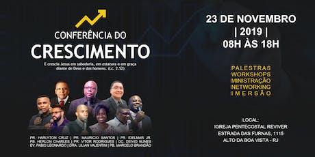 Conferência do Crescimento ingressos