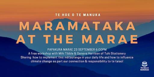 Maramataka at the Marae