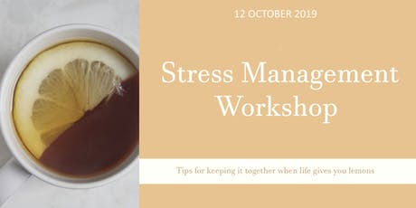 Stress Management Workshop tickets