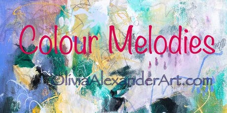 Colour Melodies - Intuitive Abstract Expressionism to Music! tickets
