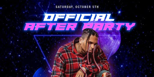 "CHRIS BROWN ""OFFICIAL"" AFTERPARTY DALLAS"