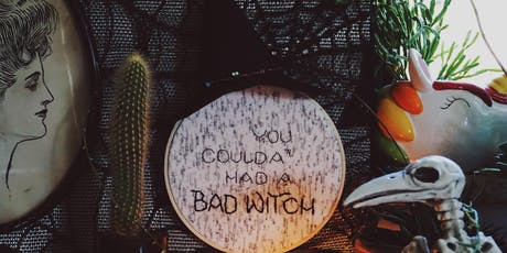 Hand Embroidery: Witchy Halloween Edition tickets