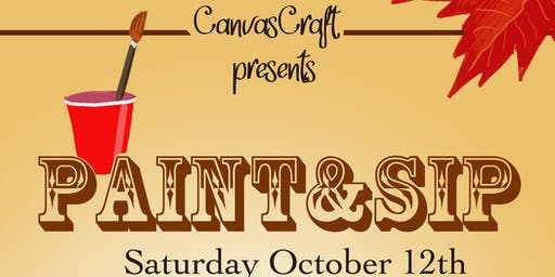 CanvasCraft -Paint and Sip