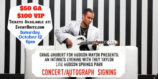 An Intimate Evening with Nashville Recording Artist Trey Taylor