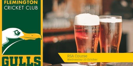 Flemington Cricket Club: RSA Course