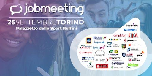 Job Meeting Torino: il 25 settembre incontra le aziende che assumono!