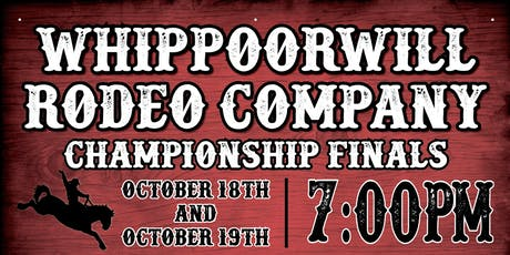 Whippoorwill Rodeo Championship Finals tickets