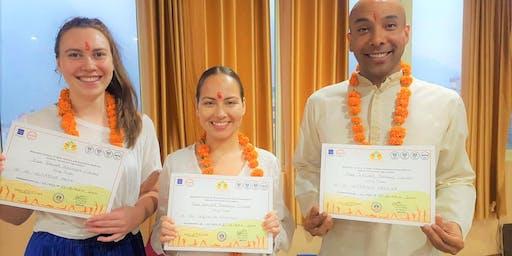 8 days 50-hour yoga teacher certified by Yoga Alliance in Rishikesh, India
