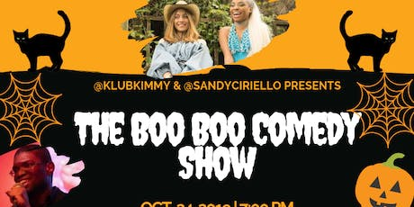 The Boo Boo Halloween Comedy Show *Costume Contest Entry With Every Ticket* tickets