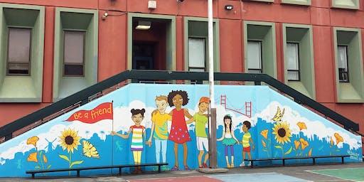 Alamo Elementary School Tour - SFUSD (2019)