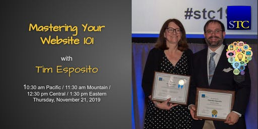 Mastering Your Website 101 with Tim Esposito