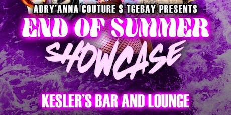 End of summer showcase tickets