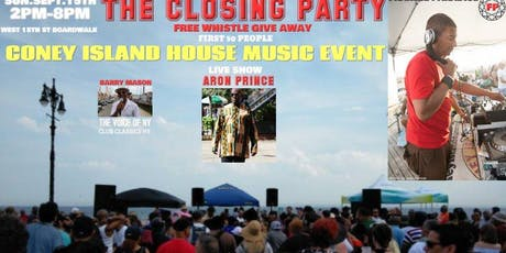 The Coney Island Boardwalk Closing Party Frankie Paradise tickets