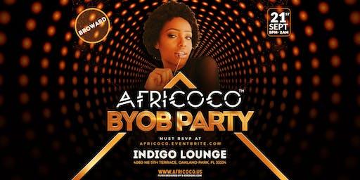 Africoco BYOB @Indigo Lounge - Broward