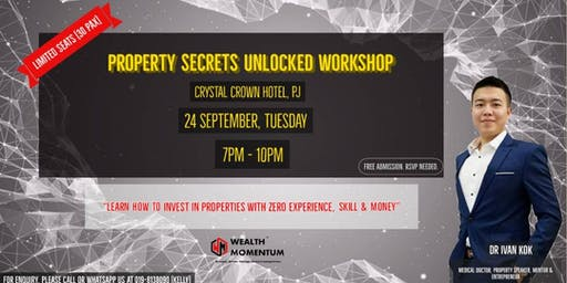 PROPERTY SECRETS UNLOCKED MASTERCLASS
